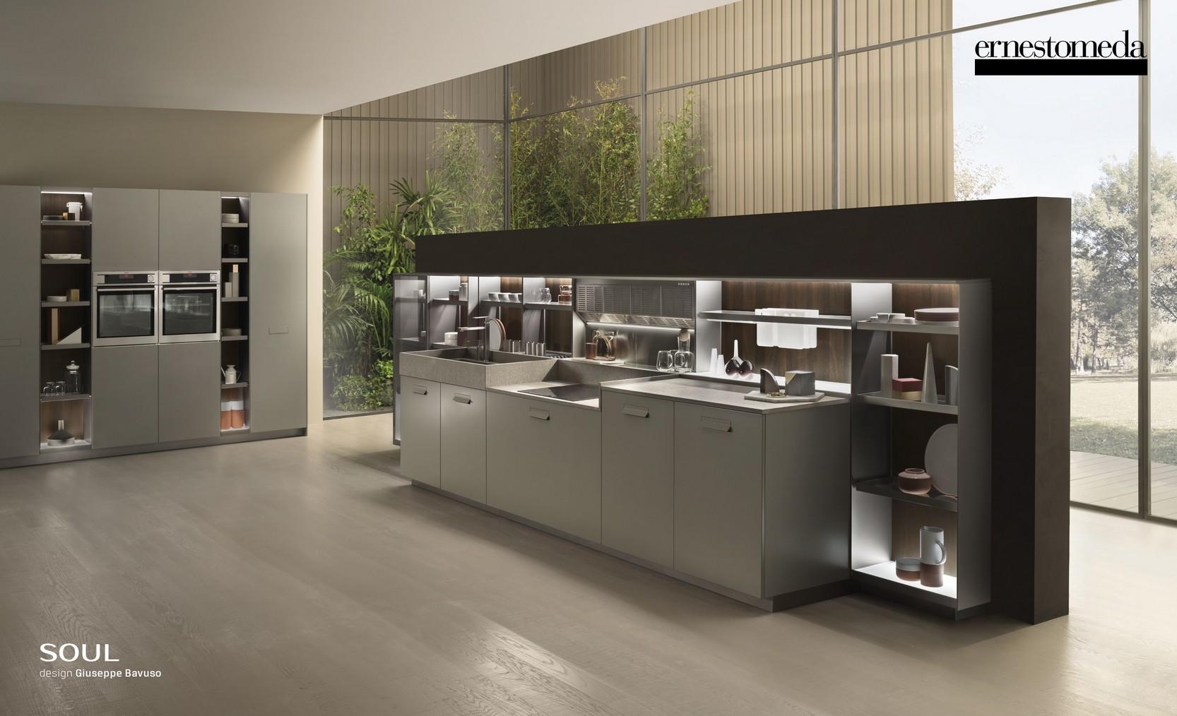 Cucine ernestomeda 1 torino kreocasa negozio di for Cucine design torino