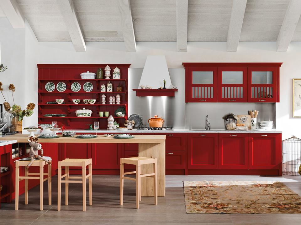Cucine dibiesse torino 2 kreocasa negozio di for Cucine rosse