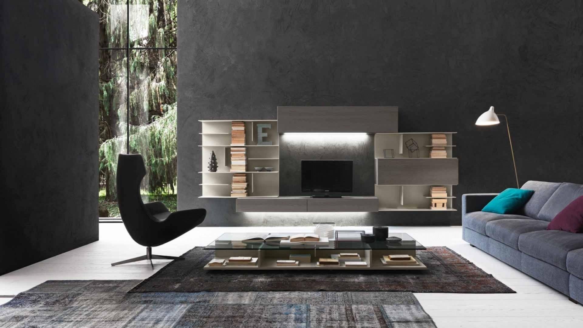 Parete Attrezzata Design Moderno Kreo.Soggiorni Presotto Torino 1 Kreocasa Negozio Di Arredamento E