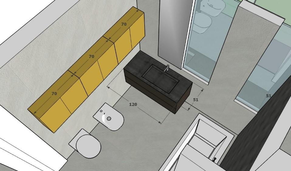rutturare appartamento di 140 MQ